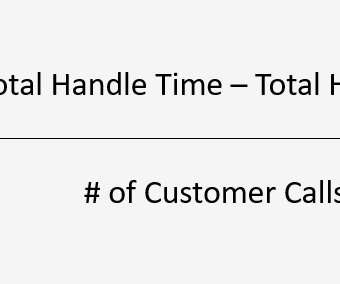 Average Handle Time and Wait times - Customer Contact Central
